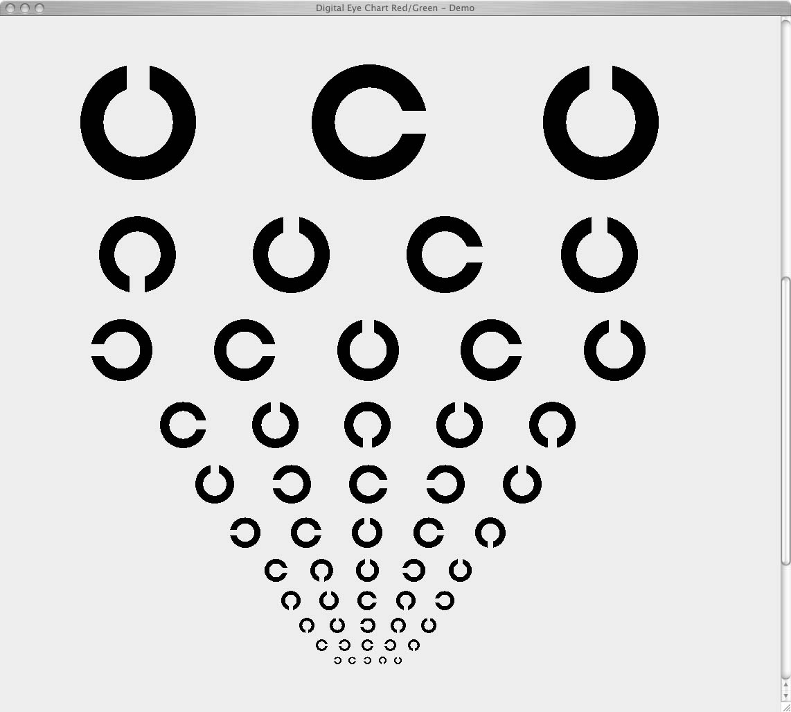 Digital eye chart what is it rolling c chart geenschuldenfo Image collections
