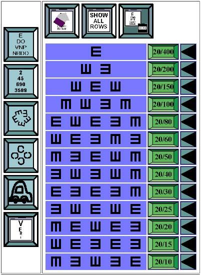 Digital Eye Chart Com What Is It